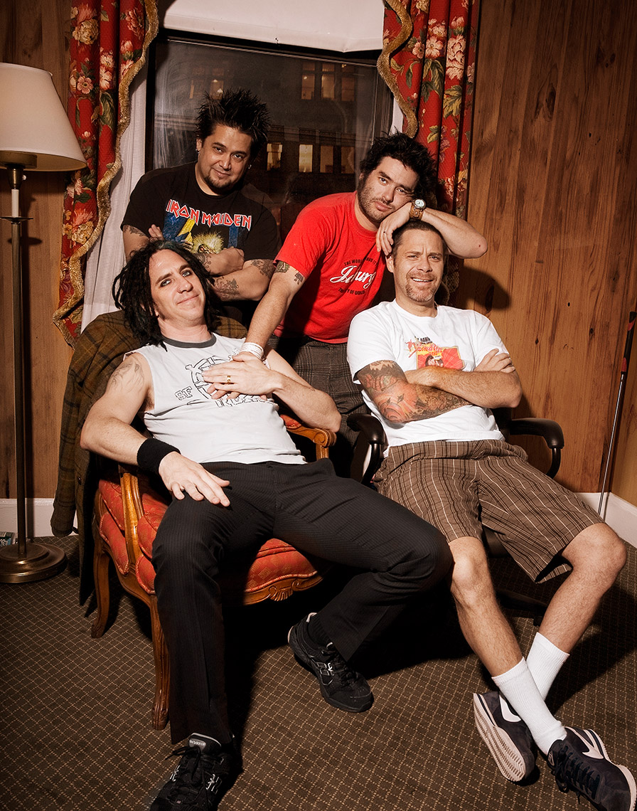 NOFX by Carrie Schechter for AP Magazine