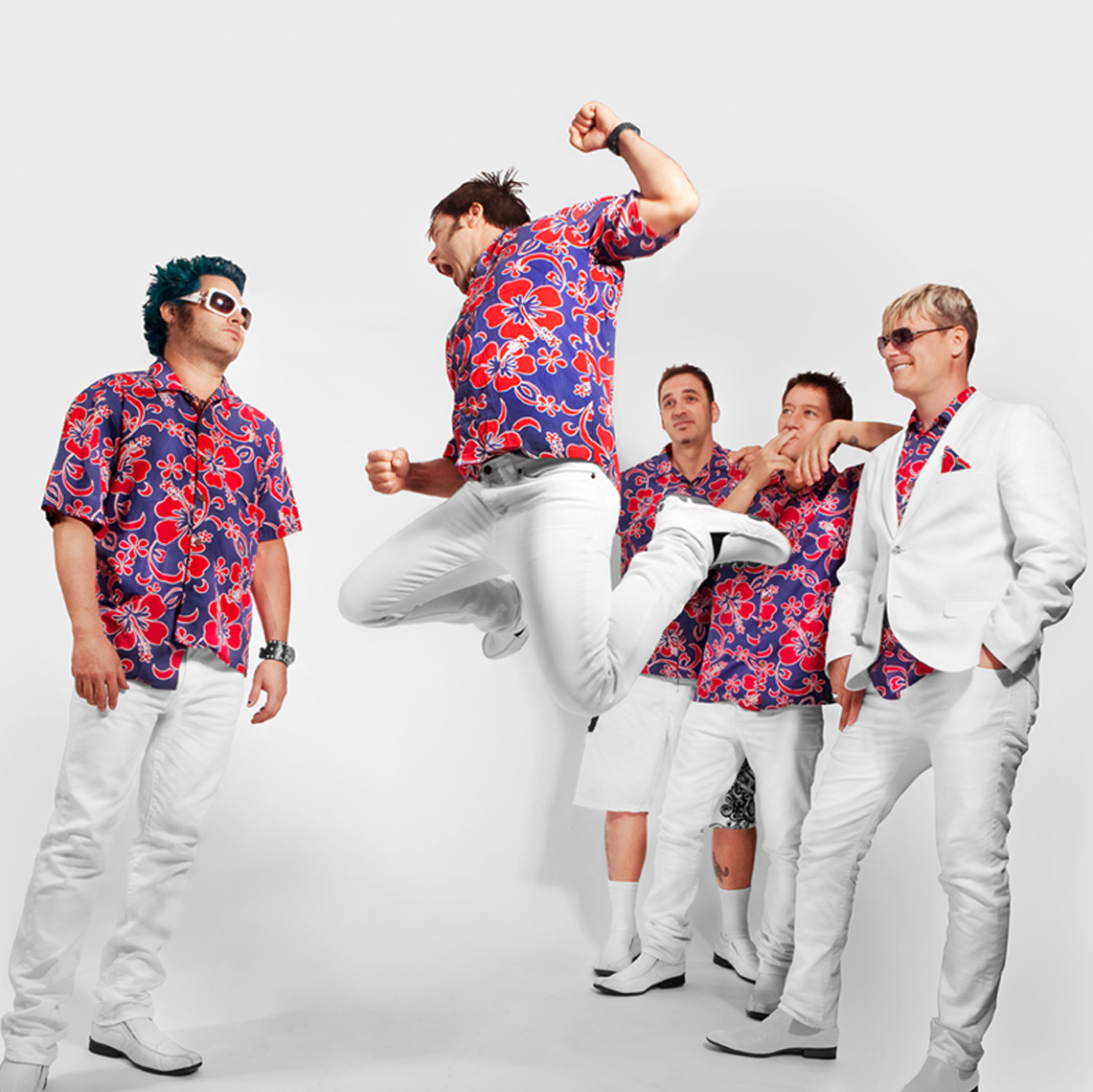 Me First and the Gimme Gimmes by Carrie Schechter for FatWreckchords