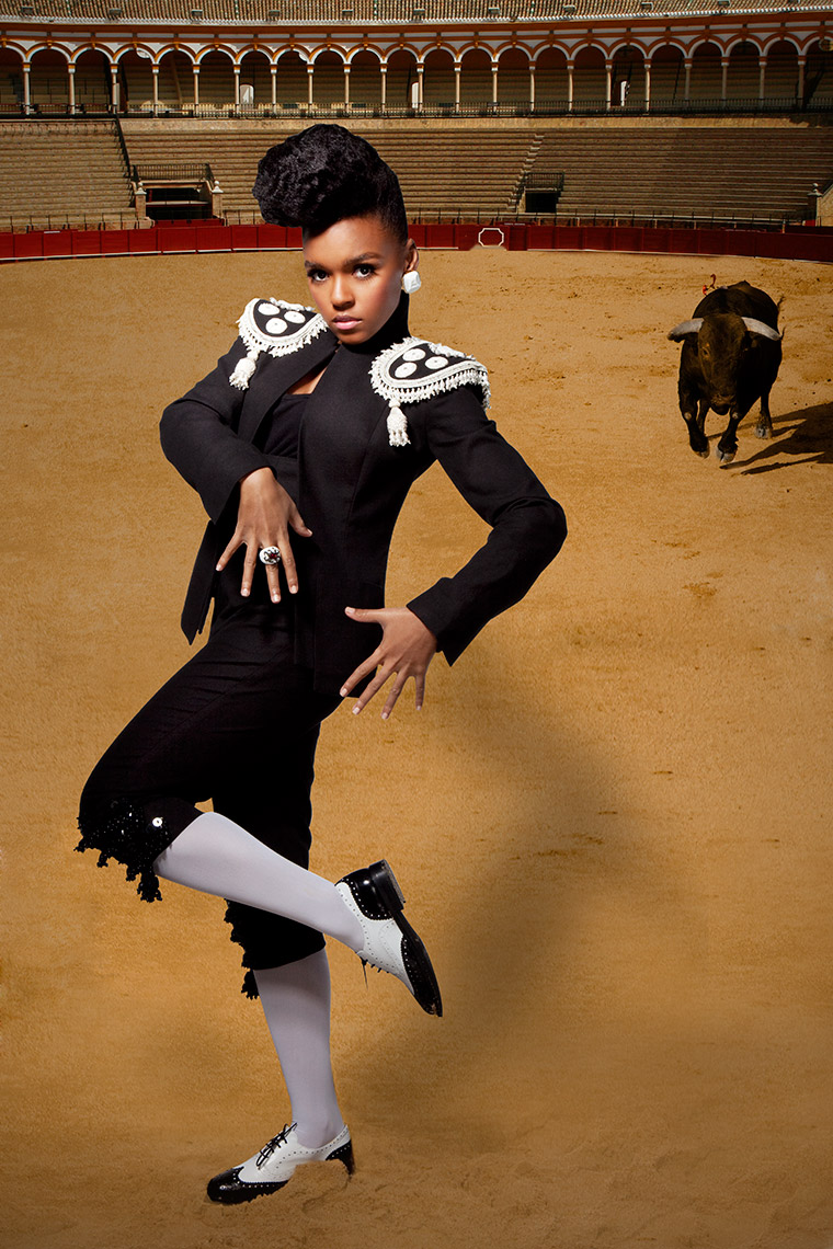 Janelle Monae by Carrie Schechter for Honey Magazine